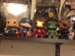 My Pop Vinyl Avengers! So cute!